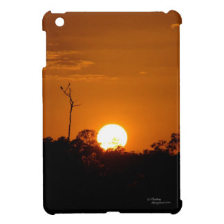 Orange Sunset iPad Mini Case