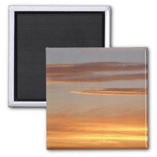 Orange Sunset Magnet