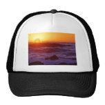 Orange Sunset Mesh Hat