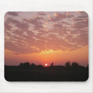 Orange Sunset Mousepad