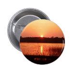 Orange Sunset on the lake Pin
