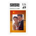 Orange Sunset Photo Frame (3) Stamp