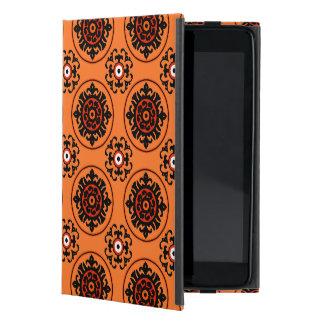 Orange Suzani Pattern iPad Mini Cover