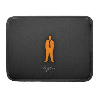 Orange Swag Sleeve For MacBooks