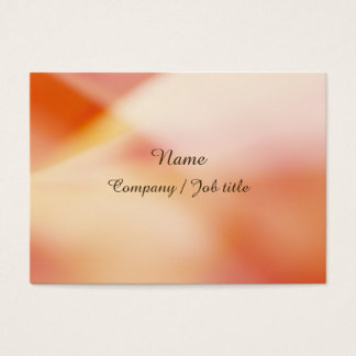 Orange Sweet Abstract Paint Colorful Reasonable Business Card