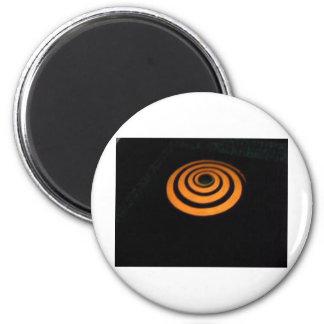 orange swirl magnet