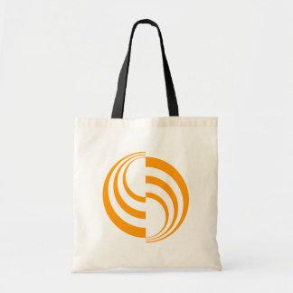 Orange Swirls Bag