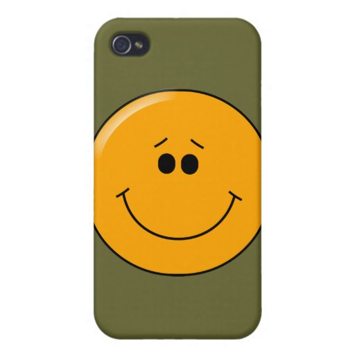 when was the first iphone invented orange sympathetic big smile smiley iphone 4 covers zazzle 8515