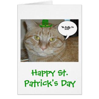 Orange Tabby Cat Greeting Cards