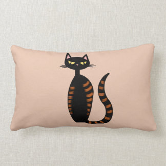 Orange Tabby Cat Lumbar Pillow