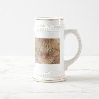 Orange Tabby Cat Coffee Mugs