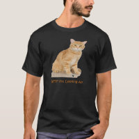 Orange Tabby Cat T-Shirt