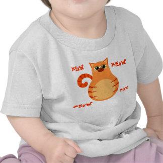 Orange Tabby Cat Toddler Tee