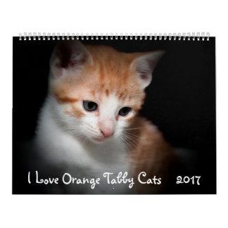 ORANGE TABBY CATS 2017 CALENDAR
