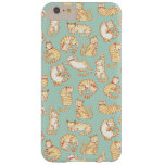 Orange Tabby Cats Barely There iPhone 6 Plus Case