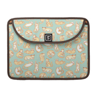 Orange Tabby Cats Sleeve For MacBooks