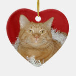Orange tabby Christmas Christmas Tree Ornament