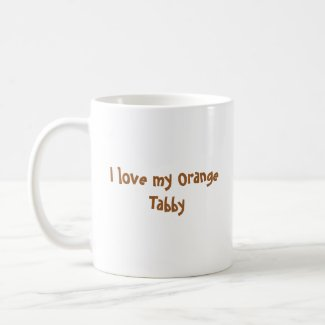 Orange Tabby Kitten Coffee Mug