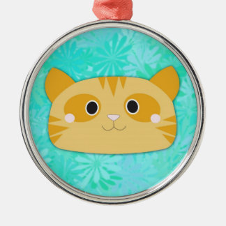 Orange Tabby Premium Ornament