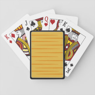 Orange Tabby-Striped Playing Cards