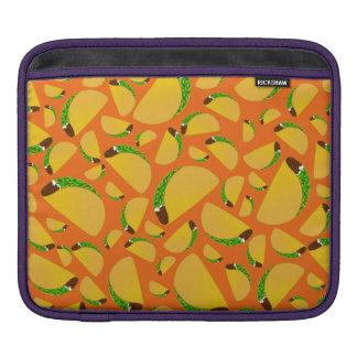 Orange tacos iPad sleeve