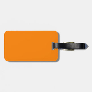 Orange Tag For Bags