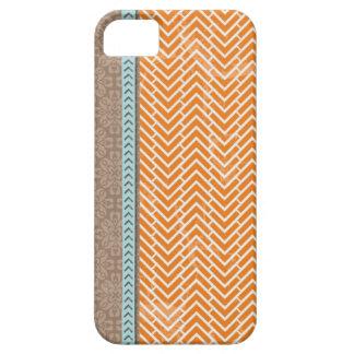 Orange Tan Tribal iPhone Galaxy Razr Case