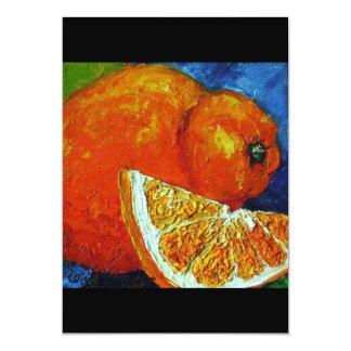 Orange Tangalo Invitation