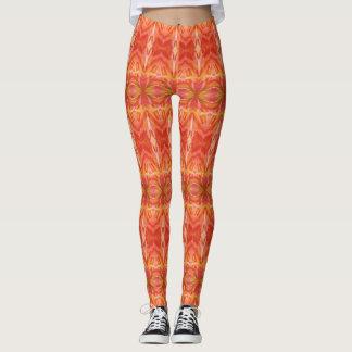 Orange Tangerine Delight Leggings