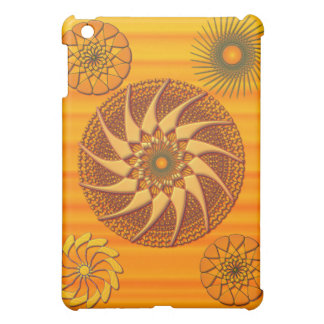 Orange Tapestry iPad Mini Case