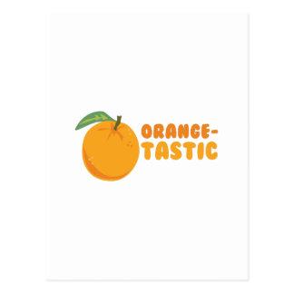 Orange-Tastic Postcard