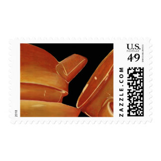 Orange Tea Set Postage (Lori Corbett)