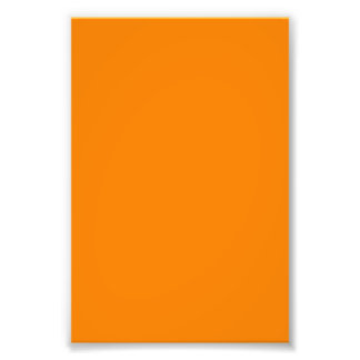 Orange template to personalized pictures and text photo print