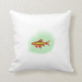 Orange Tetra Fish Pillow