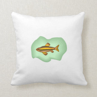 Orange Tetra Fish Pillows