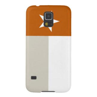 Orange Texas Flag Case For Galaxy S5