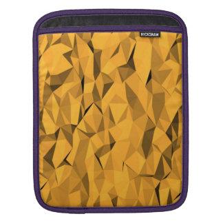 Orange texture iPad sleeve