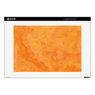 Orange Texture TPD Skin For Laptop