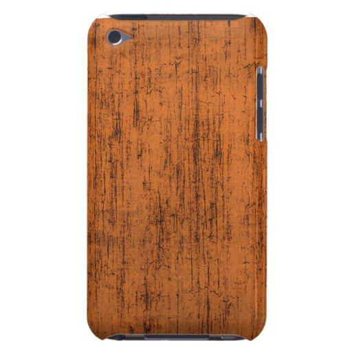 Orange textured Ipod Case iPod Case-Mate Cases