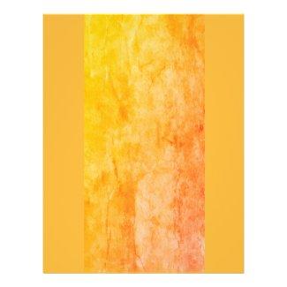 Orange Textured Pad Background Flyer