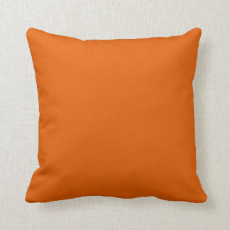 ORANGE - The Warmth of the Fire Throw Pillow