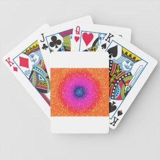 Orange through the net deck of cards