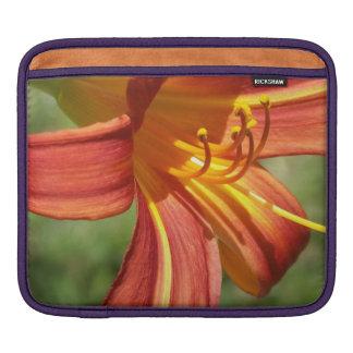 Orange Tiger Lily iPad Sleeves