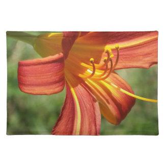 Orange Tiger Lily Placemats