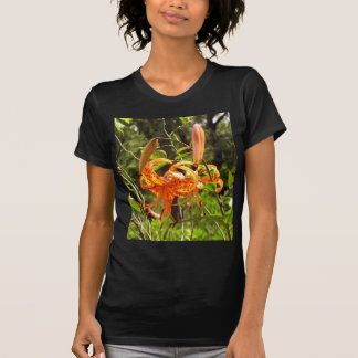 Orange Tiger Lily Tshirts
