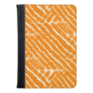 Orange Tiger Stripes Canvas Look