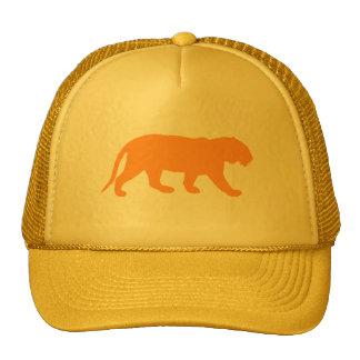 Orange Tiger Trucker Hat