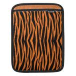 Orange Tiger / Zebra Stripes iPad Sleeve