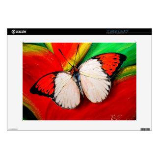 Orange Tip Butterfly Laptop Skins