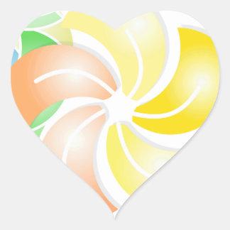 orange to flower rectangle .gif heart sticker